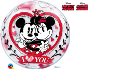 Disney Minnie and Mickey Mouse 'I Love You' Bubble Balloon